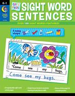 Cut & paste sight words sentences