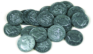 Half-dollar coins set of 50