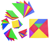 Tangrams set of 4