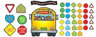 School bus bulletin board set