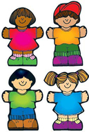 Kids cut-outs - assorted all