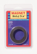 1/2 x 30 roll magnet strip with  adhesive