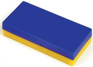 Plastic encased block magnets  12 pcs