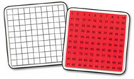 Magnetic 100 board & tiles