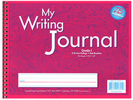 My writing journals pink gr 1