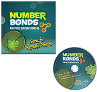 Number bonds addition & subtraction  to 99 cd rom