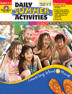 Daily summer activities gr 2-3