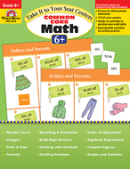 Take it to your seat gr 6 math  centers