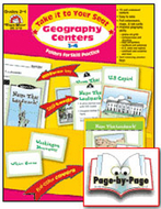 Geography centers gr 3-4