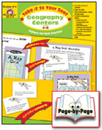 Geography centers gr 4-5