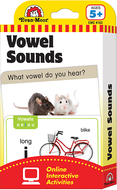 Flashcard set vowel sounds