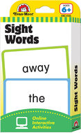 Flashcard set sight words