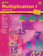 Multiplication 1 facts 0-81