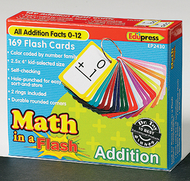 Math in a flash addition flash card