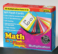 Math in a flash multiplication  flash cards