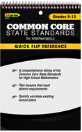 Quick flip reference for common  core state standards math gr 9 - 1