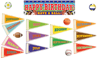 Sports birthday mini bb set