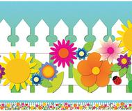 Spring garden spotlight border