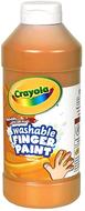 Washable fingerpaint 16oz orange