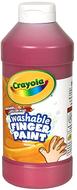 Washable fingerpaint 16oz red