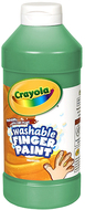 Washable fingerpaint 16oz green