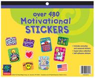 Jumbo sticker books 480 ct  motivational
