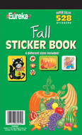 Sticker book fall 528/pk