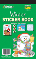 Sticker book winter 528/pk