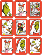 Dr. seuss the grinch giant stickers