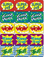 Stickers school days 1440/pk  assortment