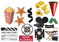 Movie theme 2-sided deco kit