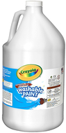 Washable paint gallon white