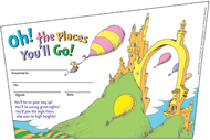 Seuss-oh the places youll go  recognition awards