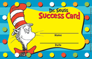 Dr seuss cat in the hat reward  punch cards