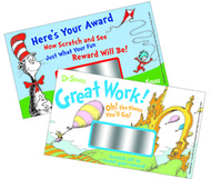 Dr seuss scratch off rewards