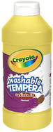 Artista ii tempera 16 oz yellow  washable paint
