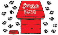 Giant peanuts dimensional dog house  bb set