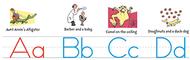 Dr seuss manuscript alphabet bb set
