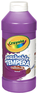 Artista ii tempera 16 oz violet  washable paint