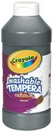 Artista ii tempera 16 oz black  washable paint