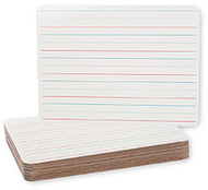 Double sided dry erase boards 12pk  9x12 class pack