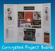 Project boards assorted 9-pk 1 each  of 9 colors