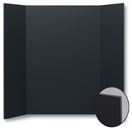Foam project boards 10pk black 36h  x 48w