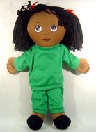 Dolls black girl doll sweat suit
