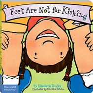 Best behavior feet are not for  kicking