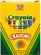 Crayola crayons 32ct tuck box