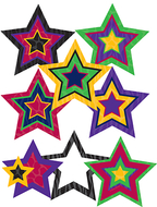 Pop outs with pizzazz sassy animal  stars