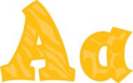 Sassy animal amber 5in sassy fonts