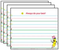Smart start charts 4-pk 22 x 28  calendar grids