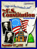 Sign on the dotted line the us  constitution